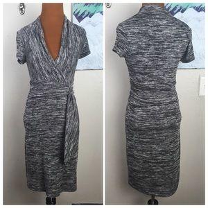 MAEVE Anthropologie space dye knit dress
